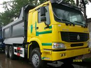 CNHTC HOWO 6X4 Dump Truck 290 / 336 / 371hp Engine U - Type Cargo Body
